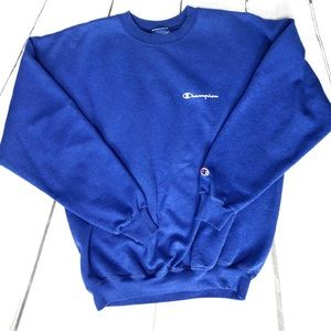 Champion Crewneck Blue Sweatshirt